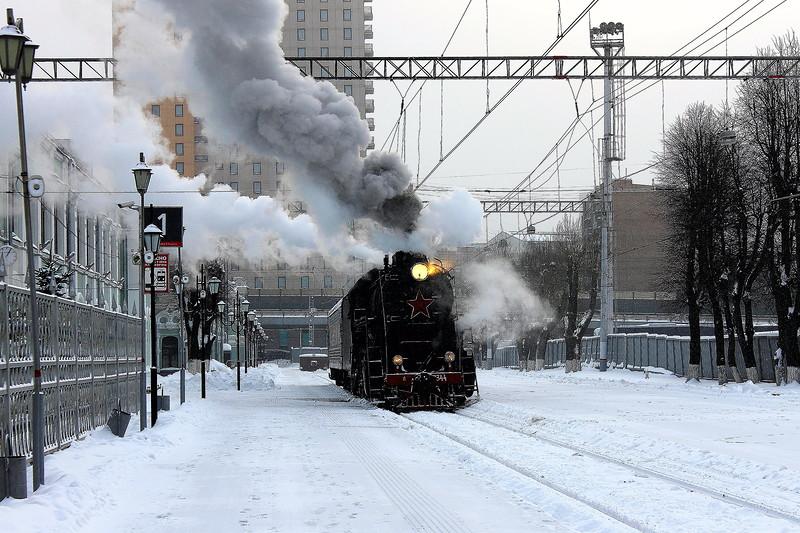 На Рижском вокзале